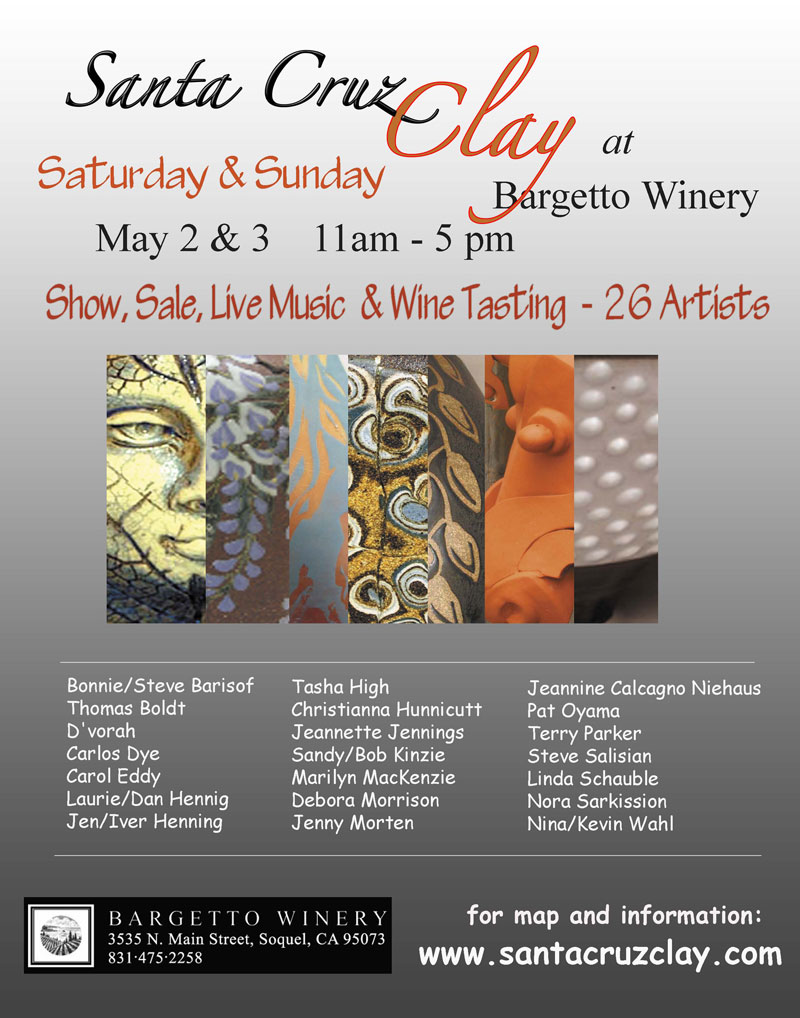 26 potters and ceramic artists!